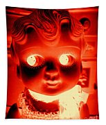 Bright Eyed Kewpie Tapestry