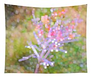 Bright Flower Tapestry