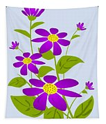 Bright Purple Tapestry