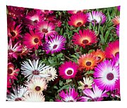 Brilliant Flowers Tapestry