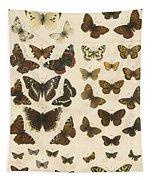 British Butterflies Tapestry