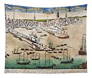 British Landing, 1768 Tapestry