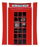 British Phone Box Tapestry