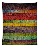 Brocade And Stripes Tower 1.0 Tapestry