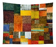 Brocade Color Collage 1.0 Tapestry