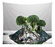 Broccoli Freshsplash Tapestry