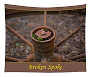 Broken Spoke Tapestry