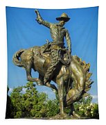 Bronco Buster - Denver Tapestry