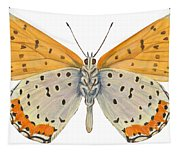 Bronze Copper Butterfly Tapestry