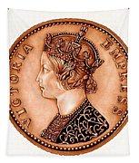 Bronze Empress Victoria Tapestry