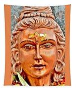 Bronze Shiva Statue - Uttarkashi India Tapestry