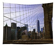 Brooklyn Bridge View Tapestry