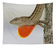Brown Anole II Tapestry