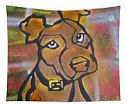 Brown Dog Tapestry