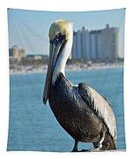 Brown Pelican Tapestry