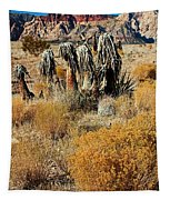 Brown Ridge Line Tapestry
