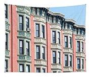 Brownstone Art Hoboken Nj Tapestry
