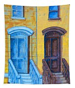 Brownstone Mural Art Tapestry