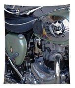 Bsa Motorcycle Tapestry