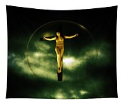Bubble Crucifix Tapestry