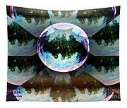 Bubble Illusion Catus 1 No 1 Tapestry