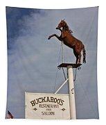 Buckaroo's Saloon Tapestry