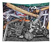 Bucket Of Tools Sc Tapestry