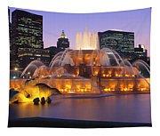 Buckingham Fountain, Chicago, Illinois Tapestry