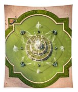 Buckingham Fountain From Above Tapestry