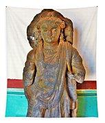 Ancient Buddha Statue - Albert Hall - Jaipur India Tapestry