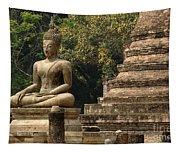 Buddha Sukhothai Thailand 6 Tapestry