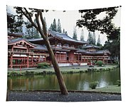 Buddhist Temple, Byodo-in Temple Tapestry