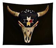 Buffalo Skull Tapestry