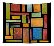 Building Blocks Three Tapestry