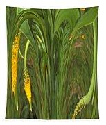 Bulbinella Latifolia Abstract Tapestry