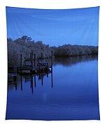Bull Frog Creek II Gibsonton Fl Usa Near Infrared Tapestry