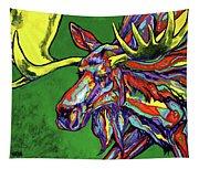 Bull Moose Tapestry