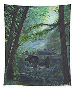 Bull Moose Pond Tapestry