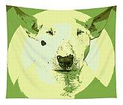 Bull Terrier Graphic 2 Tapestry