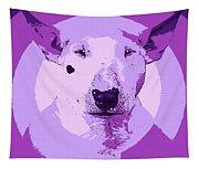 Bull Terrier Graphic 5 Tapestry
