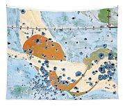 Bullet Ridden Tin Sign Chicos Hot Springs Tapestry