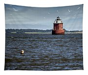 Buoy What A Lighthouse Tapestry
