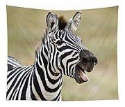 Burchells Zebra Equus Quagga Burchellii Tapestry