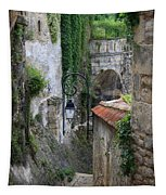 Burgundy Alley  Tapestry