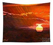Bushveld Sunset Tapestry