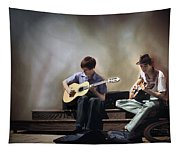 Buskers Tapestry
