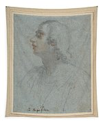 Bust Of A Youth Looking To Upper Left  Tapestry