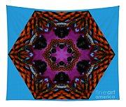 Busy  Bee Kaleidoscope Tapestry