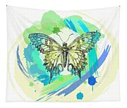 Butterfly Circles-jp2377 Tapestry