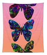 Butterfly Collage IIII Tapestry
